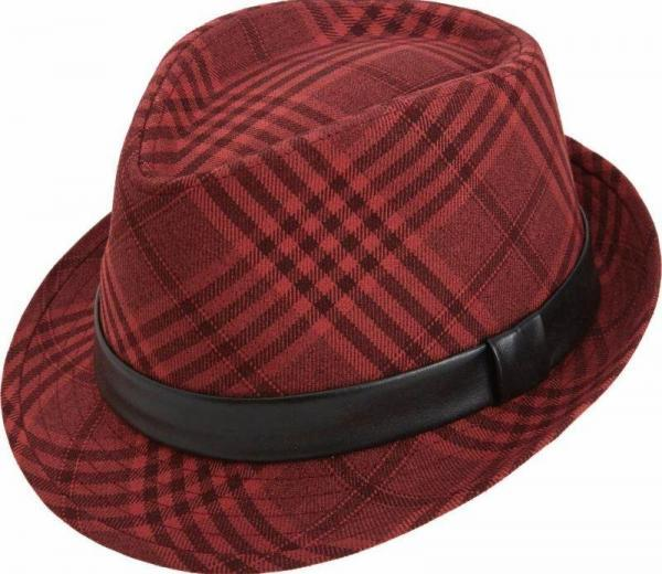 Montique H 15 Mens Matching Hat Cranberry 600x520, Abby Fashions