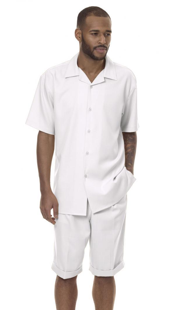 Montique-7796-mens-walking-suit-white-mens-2pc-leisure-suits-short-sets