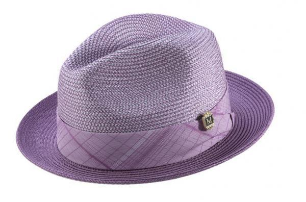 Montique H 1901 Mens Matching Hat Lavender 1 600x396, Abby Fashions