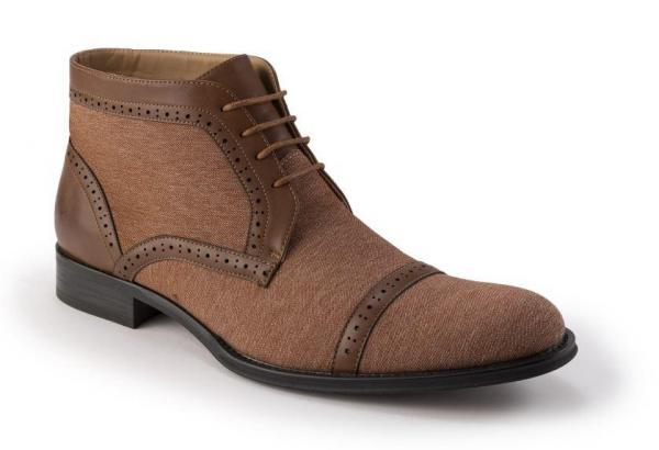 Montique Dj 77 Mens Shoes Matching Boots Cognac 600x410, Abby Fashions