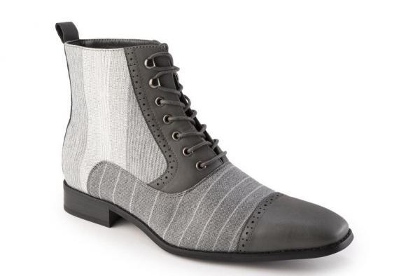 Montique S 1963 Mens Shoes Matching Boots Grey 600x394, Abby Fashions