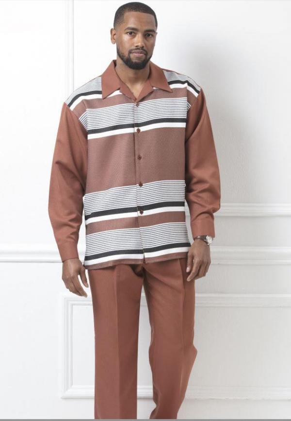 montique-walking-suits-1962-coffee-mens-2pc-leisure-suits