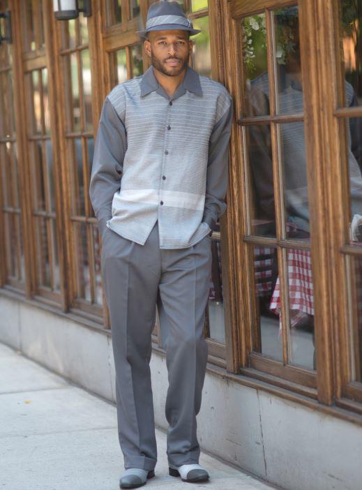 montique-walking-suits-1963-grey-mens-2pc-leisure-suits