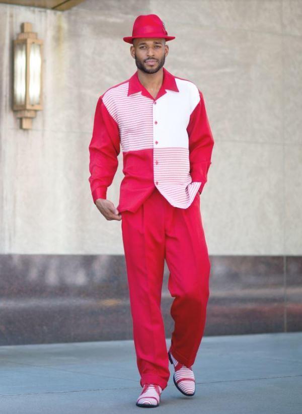 montique-walking-suits-1982-red-mens-2pc-leisure-suits