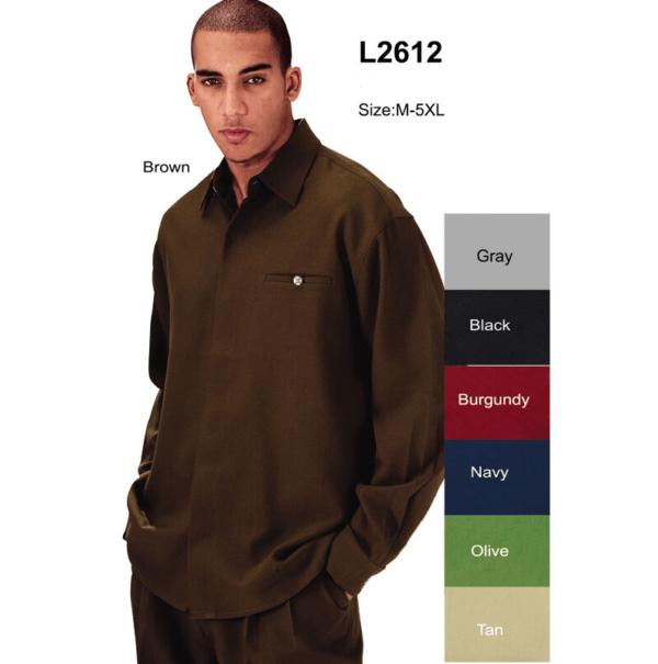 Fortino Landi L 2612 Mens Walking Suits Black Long Sleeve Mens Leisure Suits 600x605, Abby Fashions