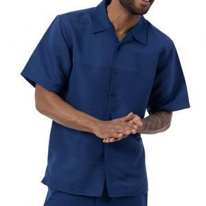 montique 2022 mens walking suits navy
