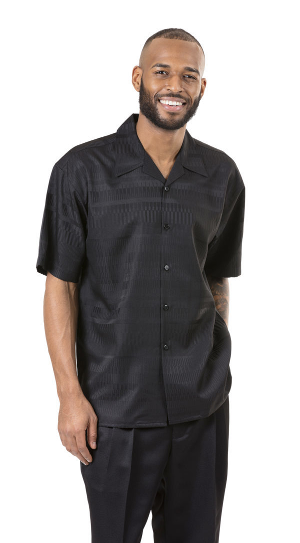 Montique 2055 Mens Walking Suits Black Mens Two Piece Leisure Suits 600x1083, Abby Fashions