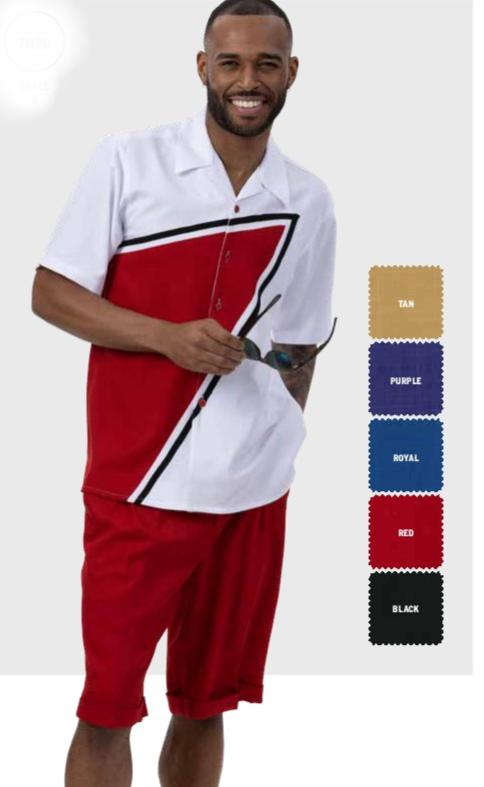 montique-7020-mens-walking-suit-red-leisure-suits-short-sets-2