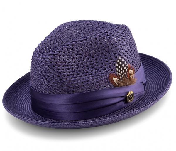 montique-h-34-mens-straw-fedora-hat-purple