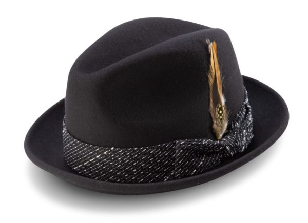 montique-h-2014-mens-matching-hat-black-fedora-wool-felt-hat