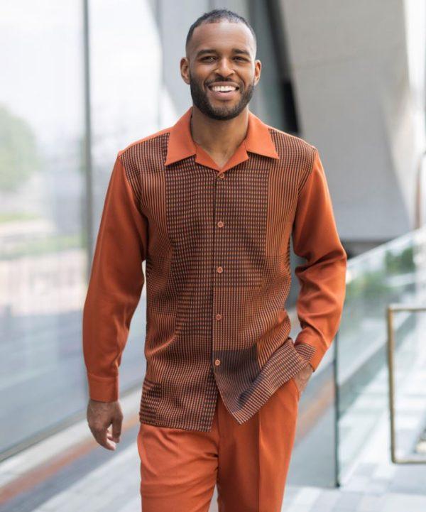 Montique Mens Walking Suits 2009 Cognac Mens 2pc Leisure Suits 600x721, Abby Fashions
