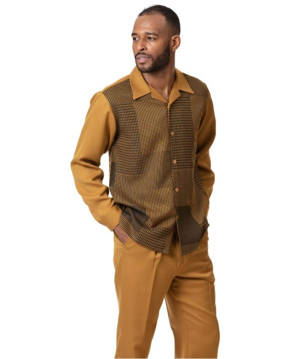 Montique Mens Walking Suits 2009 Mustard Mens 2pc Leisure Suits 600x716, Abby Fashions