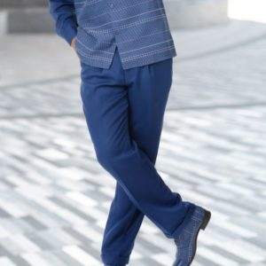Montique 2014 Mens Walking Suits Navy – Long Sleeve Mens Leisure Suits