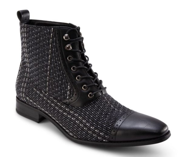 Montique S 2014 Mens Shoes Matching Boots Black 600x518, Abby Fashions