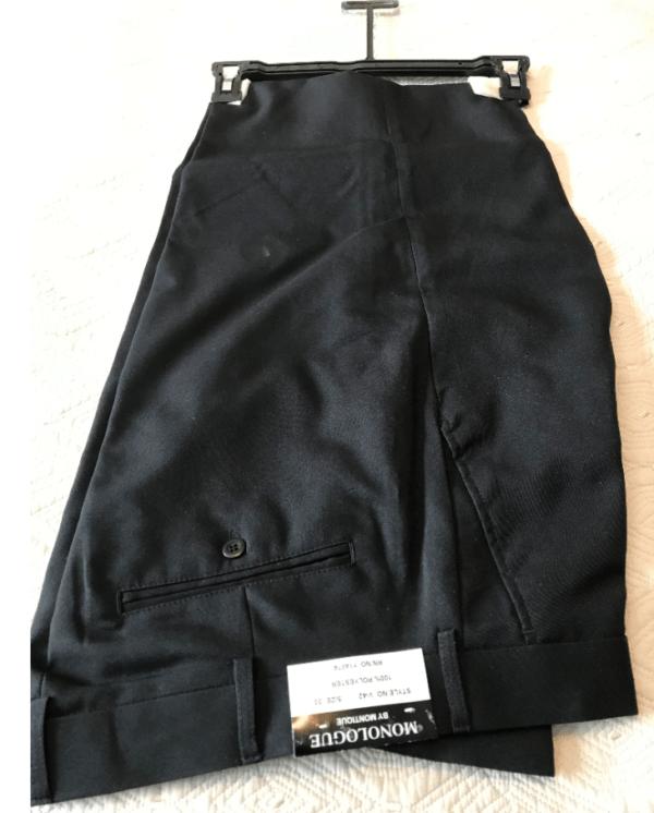 Monologue By Montique Mens Vest Sets V 45 Black Pants 600x746, Abby Fashions