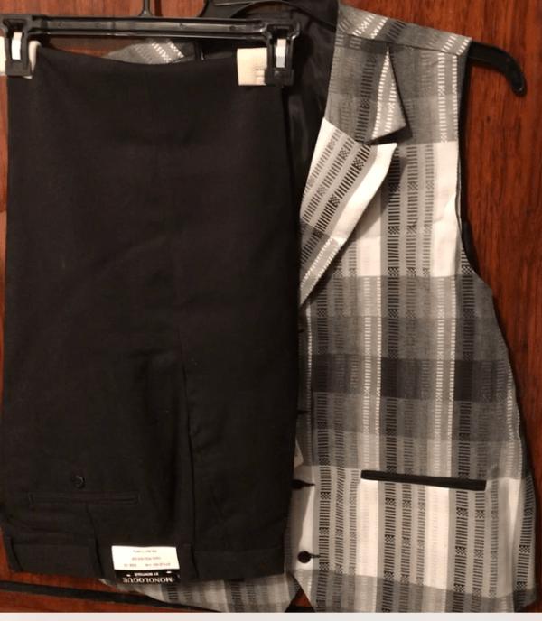 Monologue By Montique Mens Vest Sets V 45 Black Vest 2 600x688, Abby Fashions