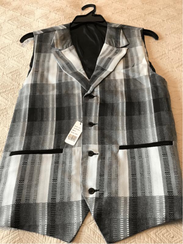Monologue By Montique Mens Vest Sets V 45 Black Vest 600x802, Abby Fashions
