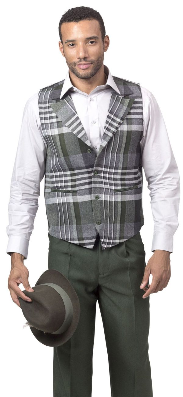 Monologue By Montique Mens Vest Sets V 633 Green 600x1300, Abby Fashions