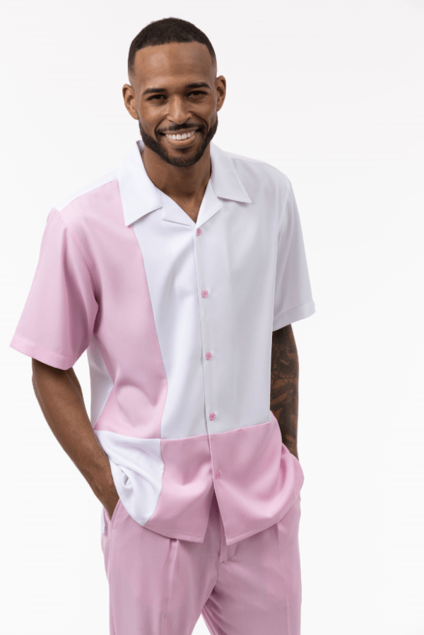 Montique Mens Walking Suits 2007 Pink Mens Leisure Suits 600x899, Abby Fashions