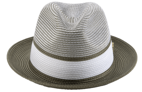 montique-h-22-mens-straw-fedora-hat-olive-two-tone-pinch-fedora-hat-2