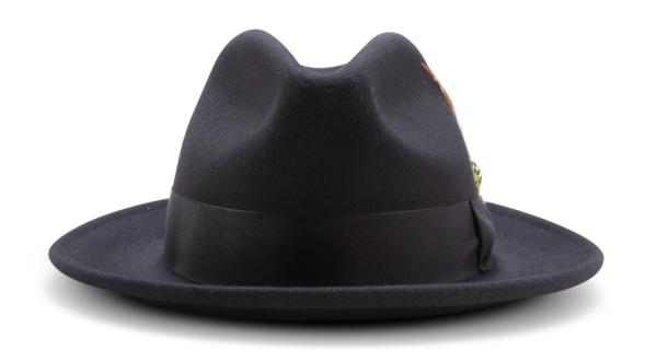 Montique H 60 Felt Hat Black Mens Godfather Hat Front 600x331, Abby Fashions
