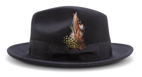 Montique H 60 Felt Hat Black Mens Godfather Hat Side 600x328, Abby Fashions
