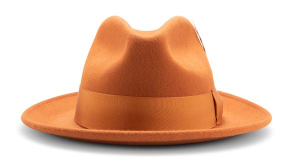 Montique H 60 Felt Hat Cognac Mens Godfather Hat Front 600x334, Abby Fashions