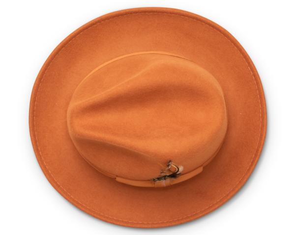 Montique H 60 Felt Hat Cognac Mens Godfather Hat Top 600x478, Abby Fashions