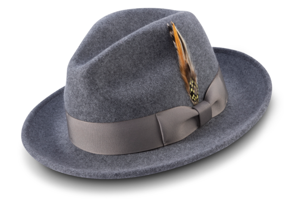 Montique H 60 Felt Hat Grey Mens Godfather Hat 600x410, Abby Fashions