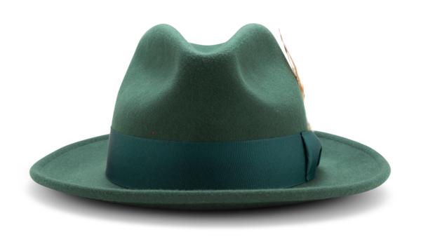 Montique H 60 Felt Hat Hunter Mens Godfather Hat Front 600x341, Abby Fashions