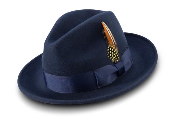 Montique H 60 Felt Hat Navy Mens Godfather Hat 600x419, Abby Fashions