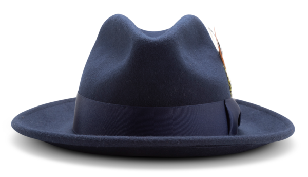 Montique H 60 Felt Hat Navy Mens Godfather Hat Front 600x344, Abby Fashions