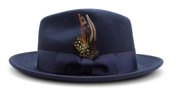Montique H 60 Felt Hat Navy Mens Godfather Hat Side 600x317, Abby Fashions