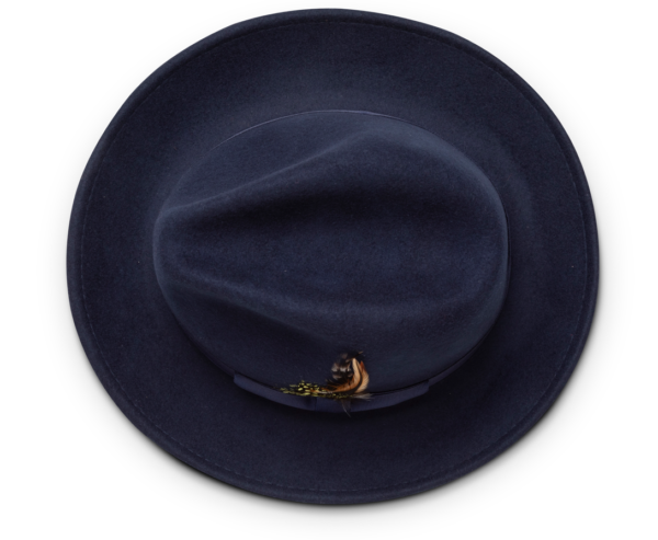 Montique H 60 Felt Hat Navy Mens Godfather Hat Top 600x493, Abby Fashions