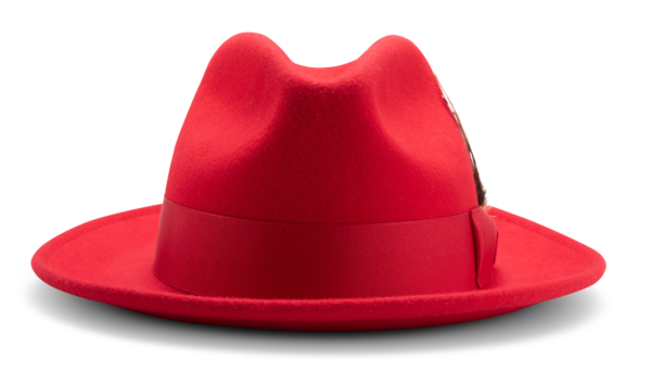 Montique H 60 Felt Hat Red Mens Godfather Hat Front 600x343, Abby Fashions