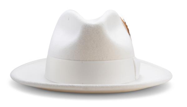 Montique H 60 Felt Hat White Mens Godfather Hat Front 600x344, Abby Fashions