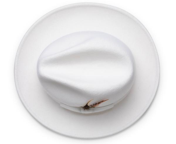 Montique H 60 Felt Hat White Mens Godfather Hat Top 600x492, Abby Fashions